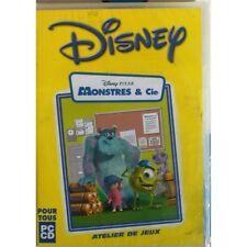 Jeu Vidéo PC Disney MONSTRES ET CIE Atelier de jeux ENFANT CD Amusement NEUF