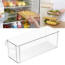 2 Pcs Kühlschrank Crisper Vorratsgefäße Lebensmittel Versiegelt Box Organizer