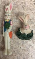Pair Vintage Easter Funny Colorful Resin pins - includes shipping
