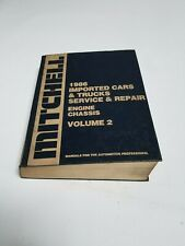 Mitchell 1986 Imported Cars & Trucks Service & Repair Engine Chassis Volume 2