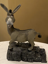 "Shrek Donkey Figure Talking Mcfarlane Toys w/ Sounds Sfx 12"" Tall 2001 - Vgc"
