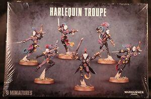 Harlequin Troupe Eldar Warhammer 40K NIB Flipside