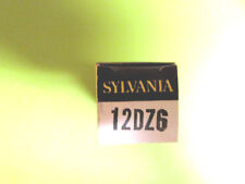 12DZ6 SYLVANIA VINTAGE (TUBE), (NEW IN BOX / NEW OLD STOCK).