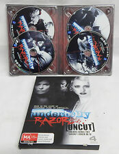 UNDERBELLY UNCUT - RAZOR - 4 DISC SET - GREAT CONDITION
