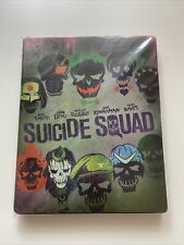 Suicide Squad Limited SteelBook (Blu-ray 3D +2D +Extended Edition + DVD) Neuwer