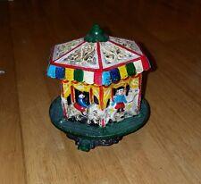 Vintage carousel music box
