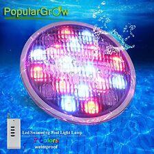 Aktualisierung IP68 RGB 54W LED Swimmingpool licht  für Unterwasser Beleuchtung