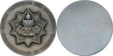 S.T. Bâtiments Fortifications et Travaux, médaille de table argentée
