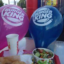 "50 große BurgerKing Luftballons Balloons Palloncini Globos Belbal 14"" NEU"