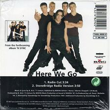 "*NSYNC ""HERE WE GO"" RARE CD SINGLE / JUSTIN TIMBERLAKE - STONEBRIDGE REMIX"