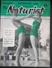 REVUE NATURIST MAGAZINE DE CHARME N°10 NUDISM 1958 ABE