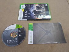 Xbox 360 Pal Game HALO REACH with Box Instructions