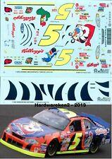 NASCAR DECAL # 5 KELLOGG'S TONY the TIGER 2002 MONTE CARLO TERRY LABONTE  SLIXX