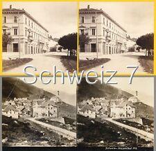 18 STEREOFOTOS SCHWEIZ SCHWITZERLAND SWISS Serie 7