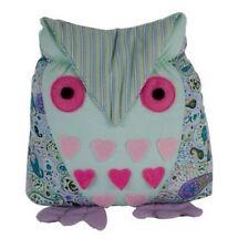 Unbranded Fabric Owl Decorative Doorstops