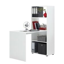 """""""Bente"""" Author's Desk - PC Computer Desk Table With Built in Bookcase / Storage."""