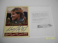 WAYNE GRETZKY AUTOGRAPH GOOWIN CHAMPIONS WITH REDEEM SCRATCHED CARD 2011