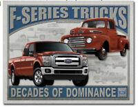 Ford f-series trucks Metal tin sign f150 home garage Wall decor new f100