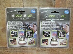 2x Car Cell Phone Holder - Dashboard Car Cell Phont Mount/Holder 3M Peel & Stick