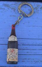 Porte-clé des années 1960-70, bouteille de vin, Vin des Colons