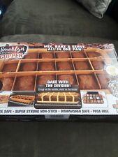 New listing Copper Brownies Ban As Seen On Tv; Brookly Brownie Pan Bnip