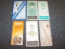 1981 Oldsmobile Omega Factory Original Owner Owner's User Guide Manual Set