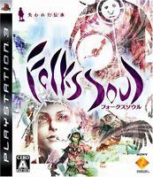 FolksSoul Ushinawareta Denshou PS3 Sony Sony PlayStation 3 From Japan
