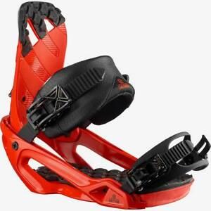 Salomon Rhythm Snowboard Bindings Small & Medium Red NEW 2021