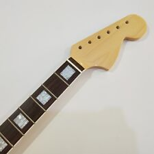 Vintage Guitar Neck Maple 21 Fret for ST style big headstock block inlays  gloss
