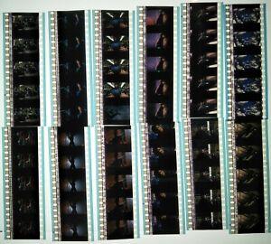 X-Men 2000 60 x 35mm Film Cell Cells 12 x Strips Movie Cine Frame Reel Theatre C
