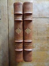 La Fontaine Contes et Nouvelles Ed. Henri Cyral 1929 Illus. Daniel-Girard 2 vol.