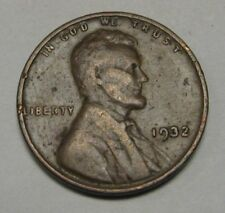 1932 Lincoln Wheat Cent in the VG to FINE Range         DUTCH AUCTION