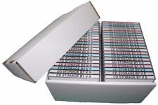 CD Storage Box Case Unit Organiser INCLUDING Lid **4 Pack Deal** Holds 40 Cd's