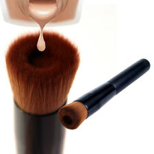 Concave Angled Make up Brush for Liquid Foundation BB Cream Powder Wooden Handle