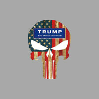 Donald Trump 2020 President Making America Great Again Waterproof Bumper Sticker
