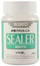 PADICO Sealer Matte Waterbased Acrylic Polymer Emulsion coat 100ml varnish