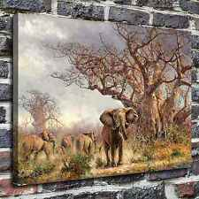 The elephant Paintings HD Print on Canvas Home Decor Wall Art Pictures posters