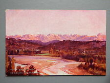 R&L Postcard: Gave de Pau, Pyrennes, Sites of France, L&M Artist