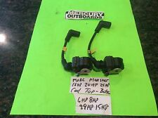 Mercury mariner outboard 15hp coil coils 6 8 9.9 18 20 25 2stroke top and bottom