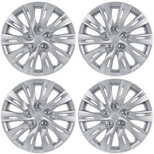 "Sporty 10-Spoke 16"" Hubcaps OEM Replacement Car Wheel Covers (4 Pack)"