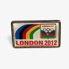 Juegos Olímpicos de Londres 2012 rara Insignia pin de Azerbaiyán oficial Pin Lancha