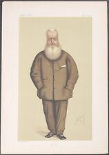 Vanity Fair - Sir James Hudson GCB. 282 - 1874 - Colored Lithograph Original
