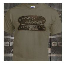 Land Rover Defender Shirt 4 x4 Four By Four Off Road Putty Shirt Ideal Gift