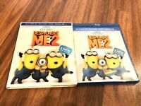 Despicable Me 2 (Blu-ray + 3D + DVD + 3-Disc Set w Lenticular Slipcover)