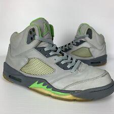 Air Jordan 5 V Green Bean Size 10.5 Mens Retro Reflective Flint Grey