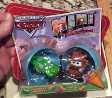 Disney CARS1 MINI ADVENTURES Original Holiday Special Eggs! McQueen & Mater RARE