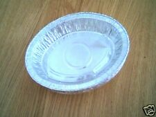 """50 x 7¼"""" Oval Pie Foil Dishes"""