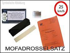elektr Mofadrossel  Longija Speedjet RS LJ50QT-2L FIN: L4HGTBB Mofa Drossel Satz