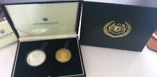 MALAYSIA DI-PERTUAN AGONG XIV Proof Coin Set of 2 2012