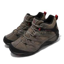 Merrell Alverstone Mid GTX Gore-Tex Boulder Red Men Outdoors Shoes Boots J033023